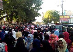 नागरिकता संशोधन बिल के विरोध में रायबरेली बना शाहीन बाग,24 घण्टे से प्रदर्शन