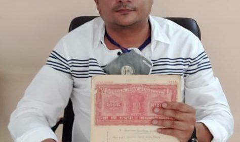 ठाकुर मनीष सिंह ने दिखाया चौहान मार्केट को अवैध कब्जा बताने वालों को दस्तावेज , कहा सार्वजनिक रुप से माफी मांगे एमएलसी दिनेश सिंह