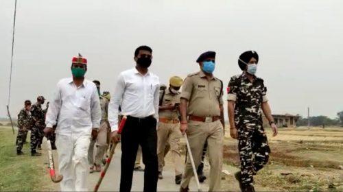 भारत नेपाल सीमा पर सतकर्ता बढ़ा दी गई